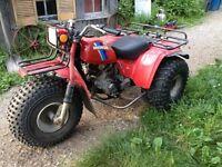 Big red 3 wheeler