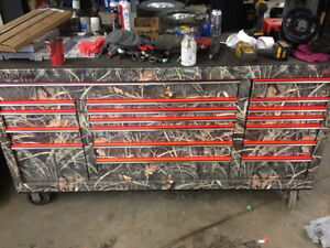 Snap-on classic 96 camo wrapped tool box