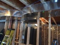 Duct work installation and fabrication