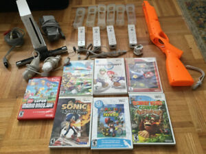 Wii System for Sale with accessories and Games