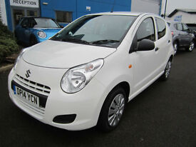 Suzuki Alto 1.0 ( 68ps ) SZ White LOW Mileage 1 Owner £0 Road Tax
