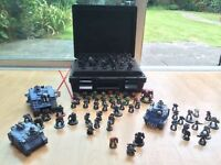 Warhammer 40000 40k Space marines and carry case loads job lot