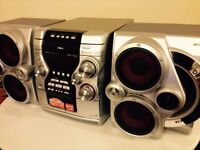 AIWA JAX N5 Hifi Stereo MP3 CD sound System Boom Blaster Retro 90s Vintage HIFI STEREO