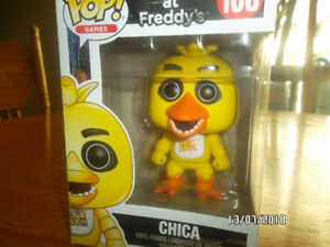 Five Nights At Freddys- Chica Funko Pop (Good Condition)