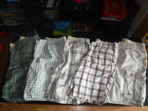 Abercrombie & Fitch, Hollister Lot of 9 Shorts/Pants Size 32
