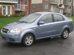 2007 Chevrolet Aveo  5-Speed, 170,000km
