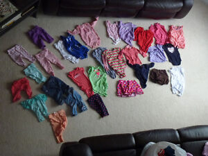 Baby clothes - Ranging from 3 to 6 +