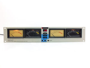 McCurdy ATS-100 Pro Extended Range VU / PPM Audio Level Meter