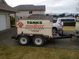 Transport Canada certified 3000 litre Fuel cube
