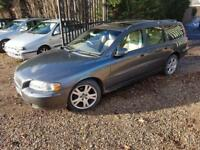 Volvo V70 2.4D SE Geartronic Automatic Estate Car, Full Volvo Service History