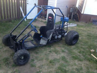 sweet go cart to trade for your quad