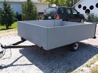 8' X 6' Good solid Utility trailer. Totally rebuilt. Must see