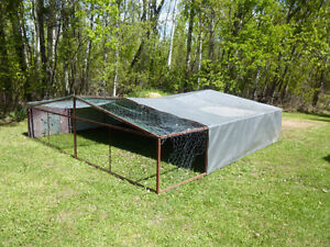 11' x 11'  Movable Pen / Enclosure for Chickens or Ducks
