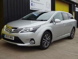 2015 (15) Toyota Avensis 2.0 D-4D Icon Business Ed. Estate Diesel £30 road tax