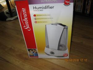 humidificateur ultrasonic a vendre en boite new