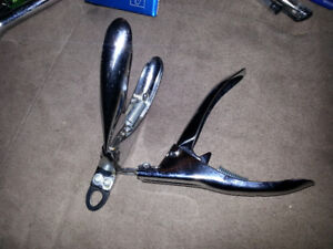 Two pairs of nail clippers