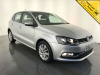 2015 65 VOLKSWAGEN POLO SE TSI HATCHBACK 1 OWNER VW SERVICE HISTORY FINANCE PX