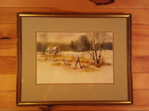 Homestead Carol Sebold 1939 - 2010 - Painting - Original