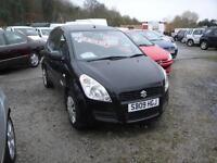 2009 Suzuki Splash 1.0 GLS. Only 48,000 miles. **£30 ROAD TAX**
