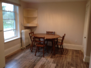 ONE BEDROOM APARTMENT AVAILABLE JANUARY 1ST