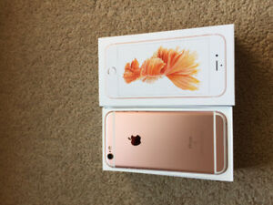 32 gb rose gold New iPhone 6s