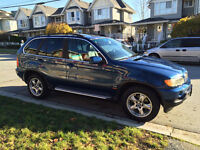 2004 BMW X5 4.4l SUV, local and spotless, heated leather