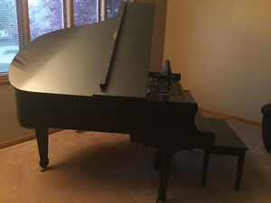 Baby grand piano - best offer