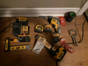Drywall tool Kit+bench&MuchMore