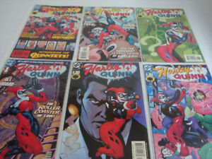 HARLEY QUINN #1 to 38 (missing #31) all in NM very High grade