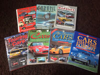 Assorted Car Books