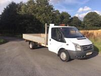 Ford Transit 2.4TDCi Duratorq ( 115PS ) 350 LWB DROPSIDE PICK UP !!!!NO VAT !!!!