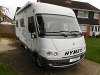 Hymer B654 A-Class, 2001 (Y), fab LHD touring home, 4/5-berth, Gloucester