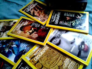 National Geographic Magazines and Jackets