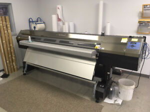 Roland Pro III XJ 740 Printer with dryer and take up