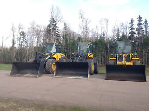 Komatsu Wheel Loaders Available For Rent