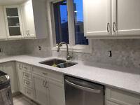 Quality Kitchen Backsplash & Shower Wall Tile Installation