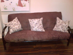 Convertible Futon - Couch/Bed - Located In Maple (Vaughan)