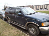 1999 FORD EXPIDITION SUV FOR WHOLE/PARTS