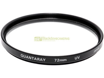 72mm. Filtro UV Quantaray. Ultra Violet filter.