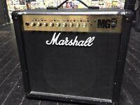 Marshall MG50FX 50 watt guitar amplifier with foot switch