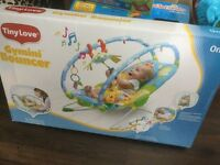 Brand new Tinylove baby bouncer gymini