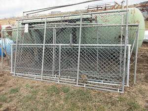 USED Metal Chain Link Gates / Fencing for SALE
