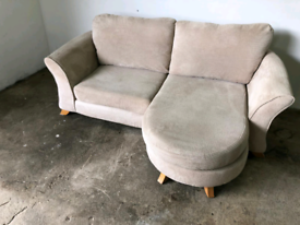 Fabric 2 seater chaise sofa couch suite 🚚🚚