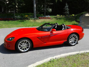 DODGE VIPER SRT-10 2003 CANADIENNE WOW! 1 taxe !! 31700 KM