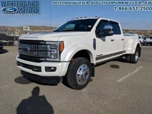 2017 Ford F-450 DRW Super Duty Platinum  - Leather Seats