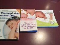 Livres sur le sommeil des bébés