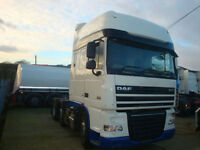2008 Daf XF105 410 Superspace 6x2 Auto, Euro 5