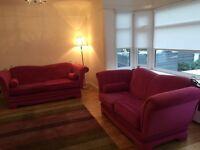 Drop arm sofas 3 &2 seater