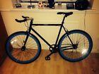 Fixed wheel road bike