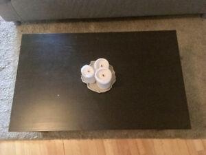 Table basse IKEA Lack, noire